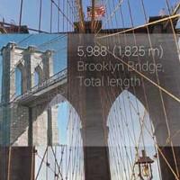 Google Glass es capaz de identificar y dar datos de lugares y monumentos emblemáticos.