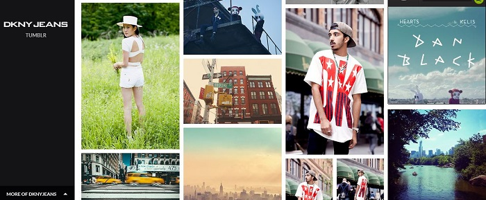 DKNY en Tumblr