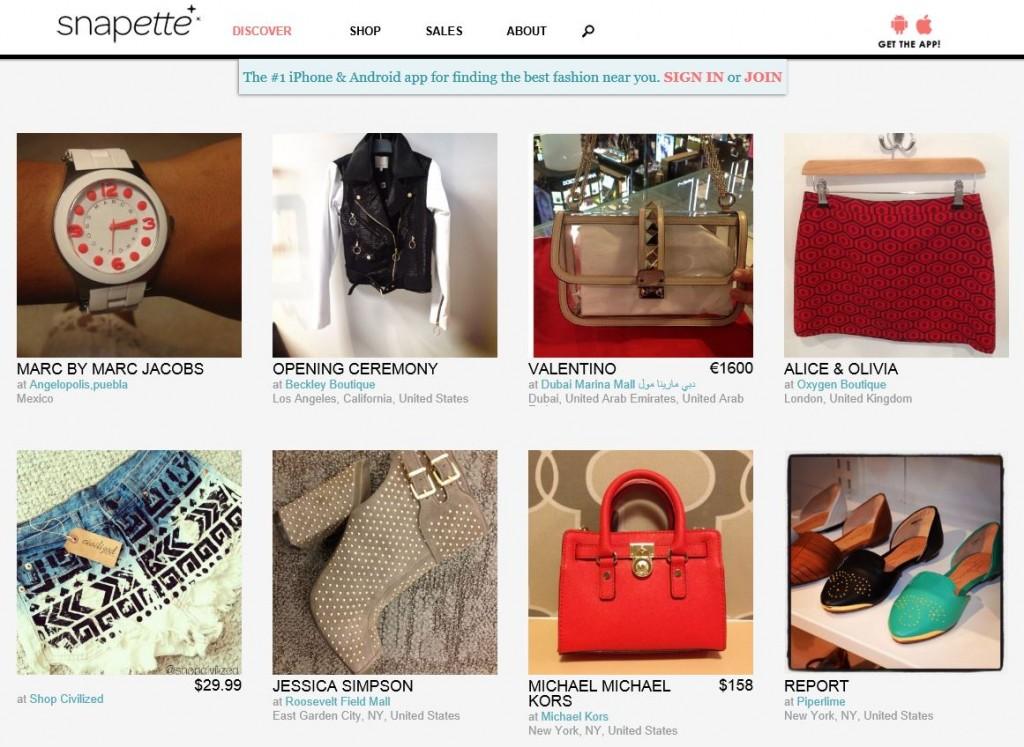 App de geolocalización que nos permite encontrar tiendas de moda y ropa y complementos de firmas de prestigio.
