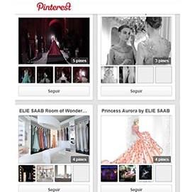 Elie Saab en Pinterest