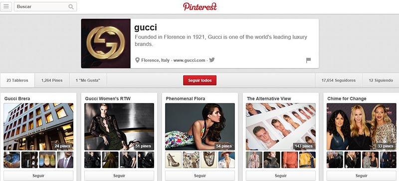Gucci en Pinterest