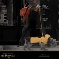 The dog walk, campaña de Ralph Lauren de poyo a la protección de los animales.