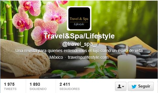Travel and Spa Life en Twitter.