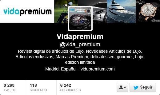 Vida Premium en Twitter