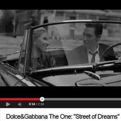 Vídeo Street of Dreams de Dolce y Gabbana.