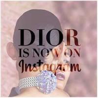 Dior anuncia que ya está en Instagram.