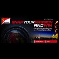 Concurso de Ferrari Snap your Passion.