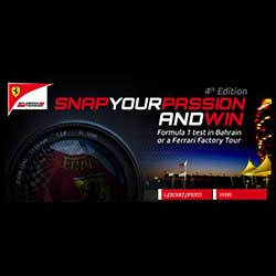 Concurso de Ferrari Snap your Passion.