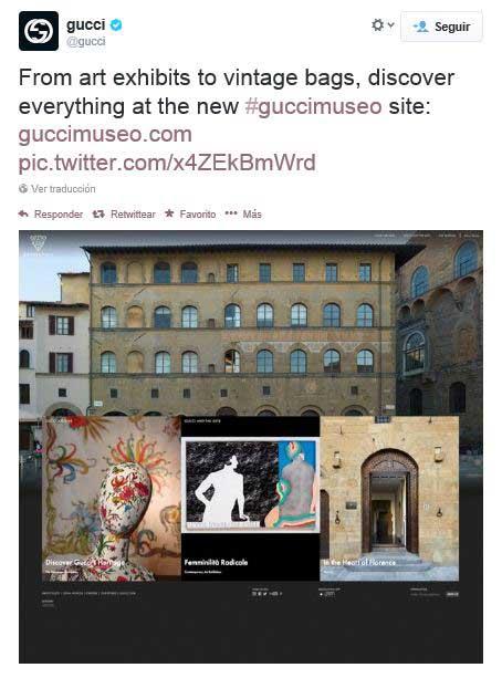 Twitter destaca algunos de los elementos más emblemáticos que acoge el museo publicando un montaje de fotos.