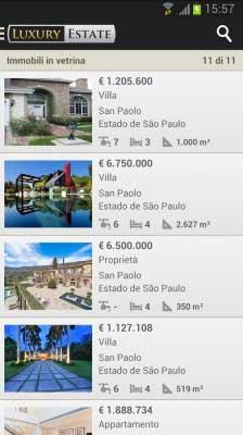 Selección de viviendas de lujo anunciadas en Luxury Estate.