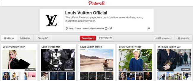 Louis Vuitton en Pinterest.