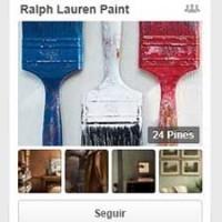 Uno de los tableros dentro de la nueva página de Ralph Lauren en Pinterest.