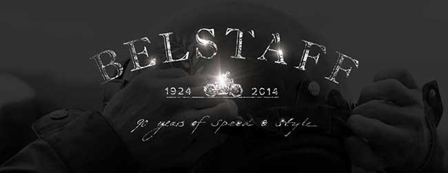 Imagen de la cabecera de Facebook con la que Belstaff anuncia su 90 cumpleaños.