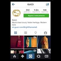 11 Marcas de moda de lujo, entre las 50 mA?s populares de Instagram