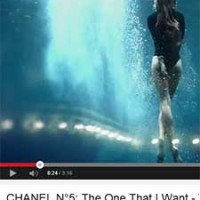 You are the One. Chanel nº5. Vídeo en YouTube.