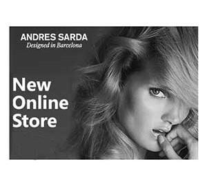 Andrés Sardá anunciando su nueva tienda online.