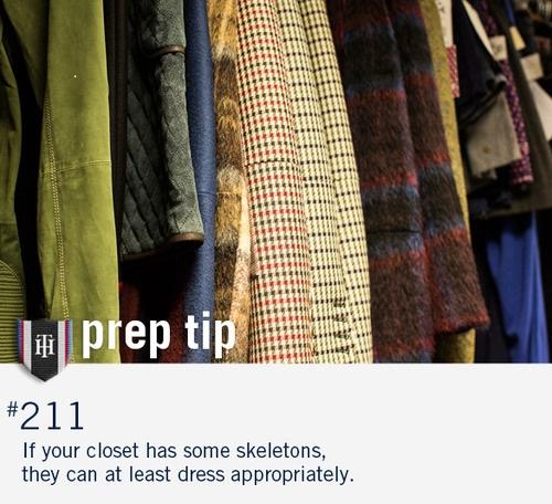Uno de los 'prep tips' de Tommy Hilfiger.
