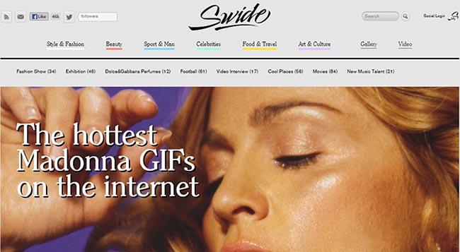 Swide Magazine, el blog-revista de Dolce & Gabbana.