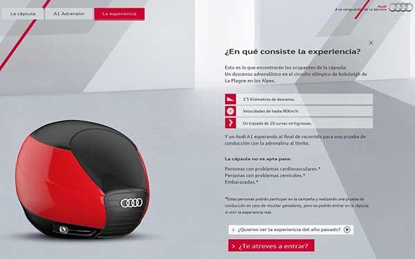 Audi Experiencia-