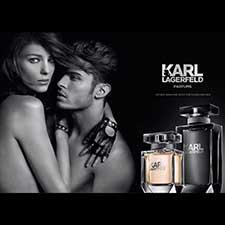 Karl Lagerfeld promociona sus nuevas fragancias con una gran campaAi??a digital que incluye una App para mA?vil