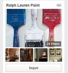 Ralph Lauren estrena perfil independiente en Pinterest para su lAi??nea de decoraciA?n