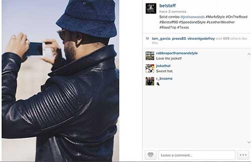 Imagen de Joshua Woods compartida en Instagram en el punto de arranque de su aventura.