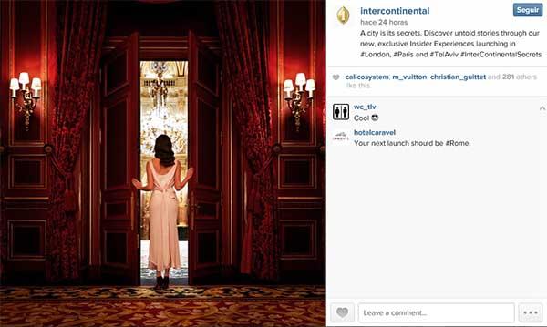 Post compartido en Instagram promocionando la campaAi??a.