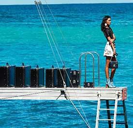 Vuitton nos lleva al Caribe con su campaAi??a The Spirit of Travel difundida en las redes sociales
